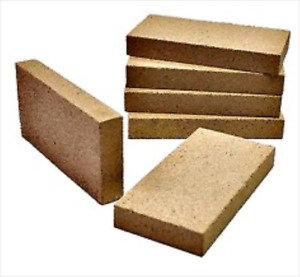 WBA034 Fire Brick, Sandstone 230 x 115 x 25mm Rated to 1300 dC