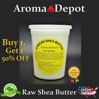 Raw African Shea Butter 2 Lb. Ivory From GHANA Natural Organic UNREFINED Pure
