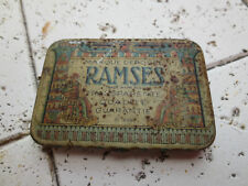 Vintage Ramses Condom Rubber Tin
