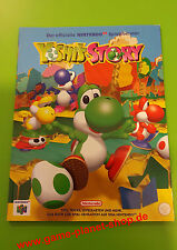 Yoshi s Story Offizieller Spieleberater NEU Codes Lösungsbuch N64 Nintendo Book