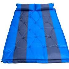 Self Inflating Double Mattress Premium Camping Hiking Airbed Mat with pillows