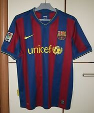 FC Barcelona 2009 - 2010 Home football shirt jersey Nike size M