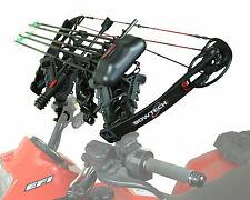 ATV Bow Gun Tube Rack Handlebar Mount V-Grip Adjustable Fit for Gun or Bow Curve