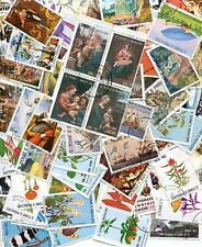 200 SAINT THOMAS AND PRINCE ISLANDS STAMPS - ALL DIFFERENT - NO DUPLICATES!