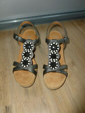 Sandalen silber braun Jenny by ara Neu 38