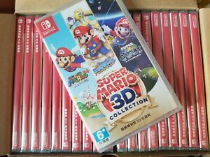 Switch Game - Super Mario 3D Collection (All Stars)