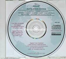 2000 2001 2002 JAGUAR S-TYPE SEDAN 4.0L V8 NAVIGATION MAP DISC CD 8 MID ATLANTIC