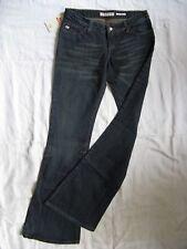 Miss Sixty Extra Low Tommy Blue Jeans Schlag W28/L32 x-low waist slim fit flare