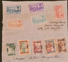 DUZIK: British Iraq Occupation Small Used/Unused stamp collection (No.1080) #