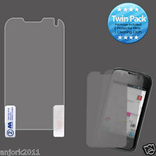 Huawei Inspira Prism II 2 Ultra Clear Screen Protector+Cleaning Cloth Twin Pack