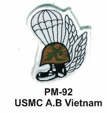 "3"" USMC A.B VIETNAM Embroidered Military Patch"