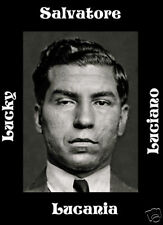 Luciano Lansky Bugsy Capone Mafia Mobsters 4 posters