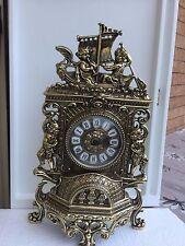 Antique bronze table clock  Orologio in bronzo dorato