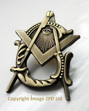 ZP295 All Seeing Eye Masonic Masons lapel pin badge with G Geometry Freemason
