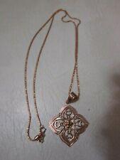 "Milor Italy 14K Gold Necklace 14K JCM Pendant 22"" SIGNED LOOK!!"