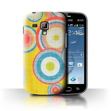 STUFF4 Back Case/Cover/Skin for Samsung Galaxy S Duos 2/S7582/Decade Pattern