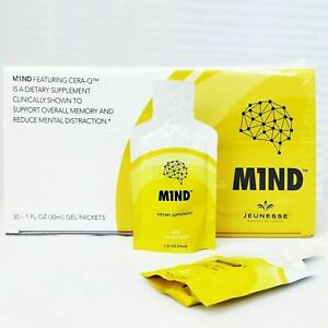 M1ND - Dietary Brain Supplement, 1 fl oz - 30 pkts  Exp 4/2021.Or Later