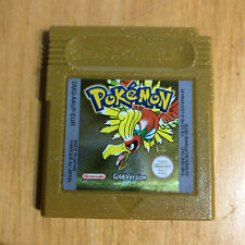Nintendo Gameboy Game - Pokemon Gold Version - New Battery Fitted