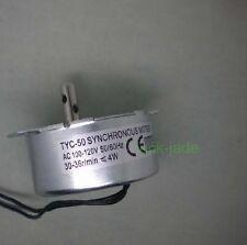 synchronous motor 110V AC 110 VAC 120VAC , 30~36r/min  50/60Hz cw/ccw 4W  TYC-50