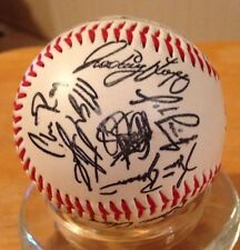 ORIOLES BASEBALL SIGNED BY TEAM; Circa 2005