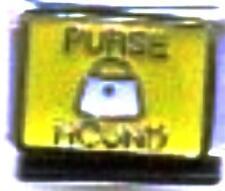 Purse Hound 9mm Italian Charm Fits Standard Bracelet