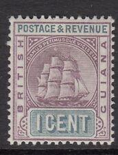 BRITISH GUIANA  SHIP 1C  SG 193  mounted mint