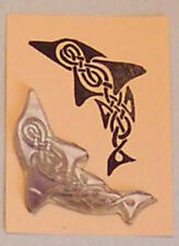 Celtic Dolphin rubber stamp by Amazing Arts wonderful!