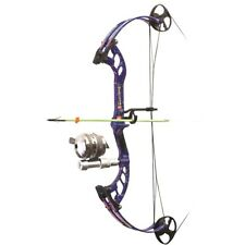 2019 PSE Cajun Muddawg Blue Compound Bow Right Hand 30-40# Cajun Package