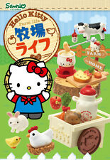 Re-Ment Miniature Sanrio Hello Kitty Farm Life Animal Set Full Set of 8 pcs