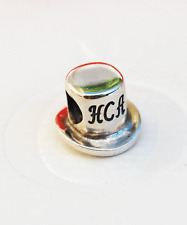 Genuine Pandora Sterling Silver Charm - HCA Hat - 790321 retired