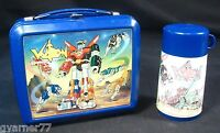 Vintage 1984 Voctron Lunchbox w/ Thermos Aladdin Defender of the Universe Rare