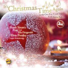 PEGGY LEE/DORIS DAY/JOHN REGAN/+ - IT'S CHRISTMAS TIME AGAIN 3 CD 60 TRACKS NEW+