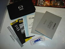 01 2001 MAZDA PROTEGE' / PROTEGE OWNERS MANUAL OWNER / USER MANUAL BOOKLET USED