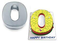 Small Number Zero 0 Wedding Birthday Anniversary Cake Baking Pan  Tin 10 X 8