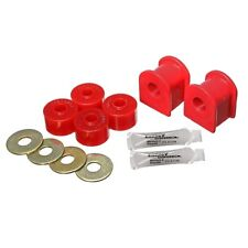 Energy Suspension 4.5196R Sway Bar Bushing Set Red Front Bar Dia. 13/16 in.