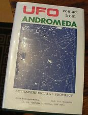 UFO Contact From Andromeda Montiel 1988 Free US Shipping Extraterrestrial Rare