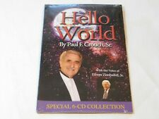 Hello World by Paul F. Crouch, Sr. Special 6-CD Collection CD 2008 Trinity NEW