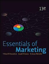Essentials of Marketing by E. Jerome McCarthy, Joseph Cannon and William D., Jr.