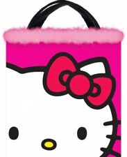Hello Kitty Trick Or Treat Bag With Pink Feathers