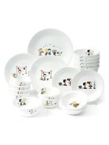 Corelle & Snoopy The Home 6Person 21Pcs Korean Efficiency Set Kitchen Tableware