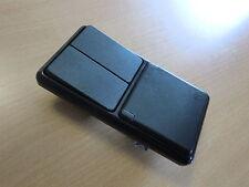 Feuchtraum Unterputz Steckdosen Serienschalter Kombination  schwarz IP44 NEU