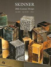 Skinner // 20th C. Deco Design Modern Artworks Post Auction Catalog 2012
