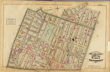 NEW YORK CITY ATLAS 1879 maps GENEALOGY history LAND OWNER streets plats DVD T3