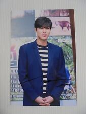 Lee Min Ho Korean Actor Signed 4x6 Photo Autograph hand signed USA Seller C6