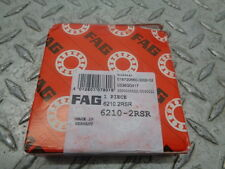 FAG 6210.2RSR DEEP GROOVE BALL BEARINGS - FACTORY SEALED