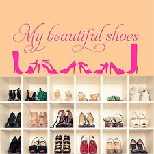 Mes belles chaussures-wall art decal stickers qualité neuf