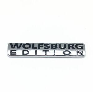 1-Wolfsburg Edition Badge For VW Emblem Chrome Golf Sticker Passat Jetta TDI GTI