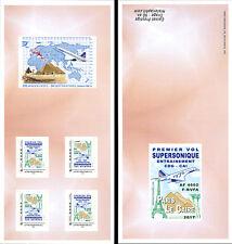 "COLLECTOR Booklet ""AF Concorde 1976 1st flight training Paris-Cairo"" 2017 TYPE 1"
