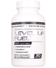 Level Up Fuel - Energy & Stamina Booster for Men & Women 90 Caps Man. Usa