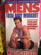 Men's Total Body Workout Mitch Gaylord Vhs Michael Pointer Kurt Merrill Fitness